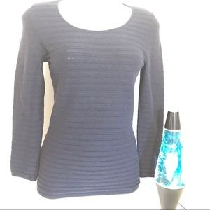 Ann Taylor knit sweater.  Long sleeves, round neck